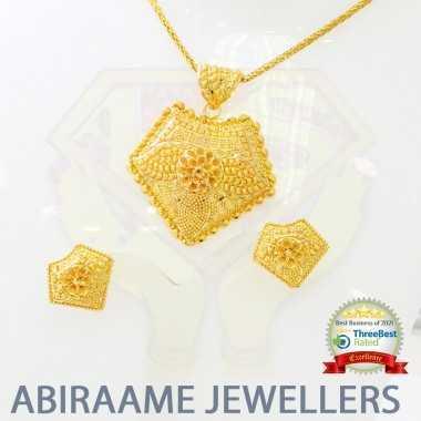 pendant earrings set, pendant and earring set, gold pendant set with earrings, pendant set with earrings gold