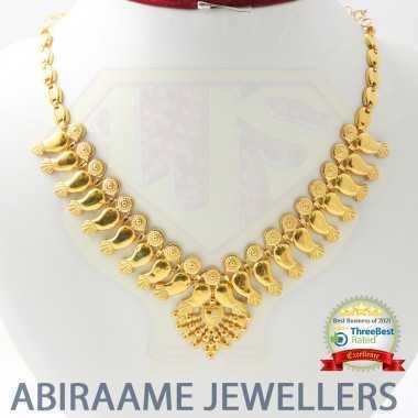 Lovely Gold Mango Necklace