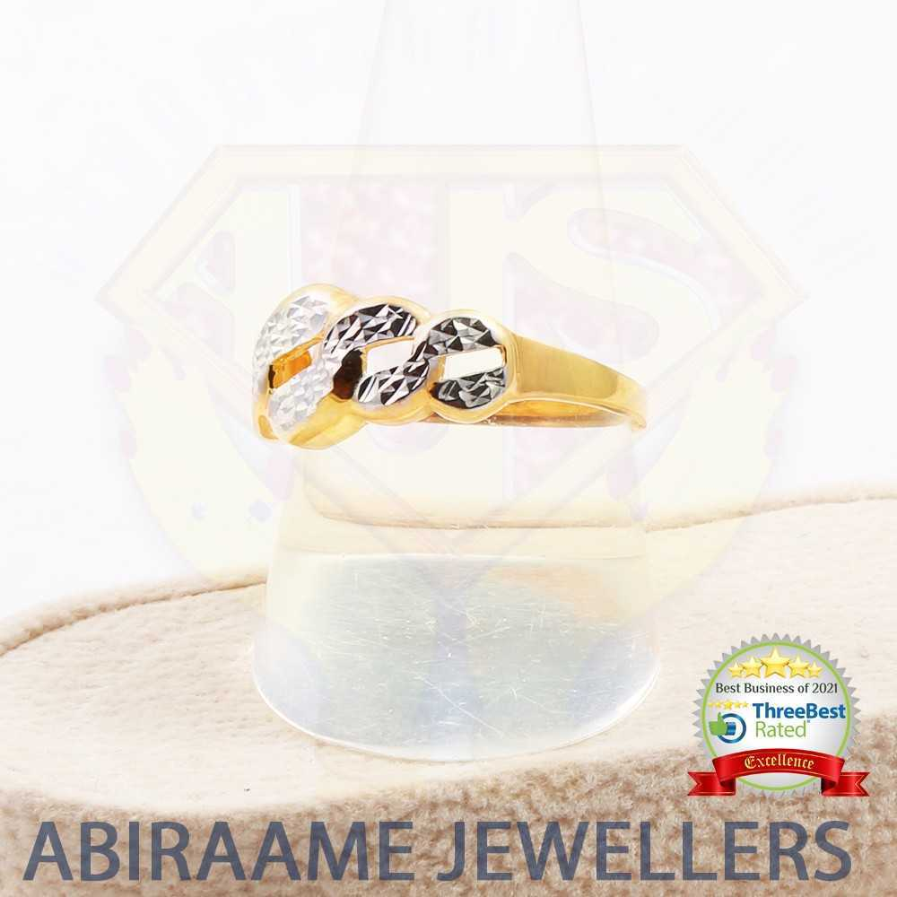 cuban chain ring, buy gold online, white gold jewellery, online gold purchase, invest in gold online, white and yellow gold ring