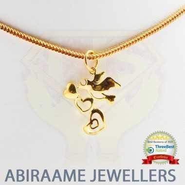 Cute Love Bird Pendant For...