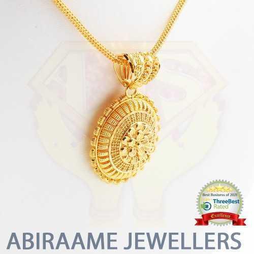 The Dhyeya Gold Pendant Set