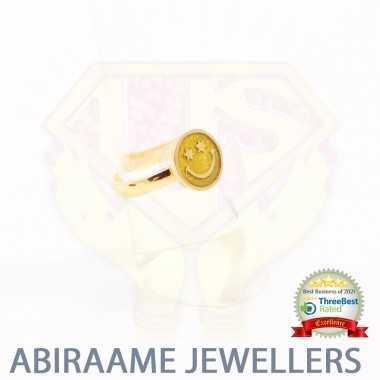 Emoji Jewelry Gold Smiley...