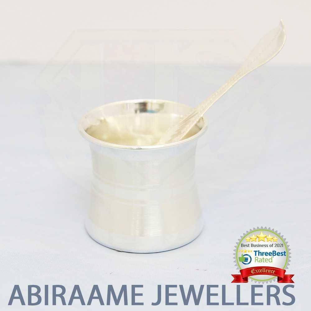 jewellers, silver pooja items, silver jewellery, silver items, panchapatra silver, silver jewellery, abiraame jewellers
