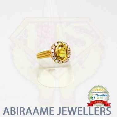Yellow Sapphire Stone Ring