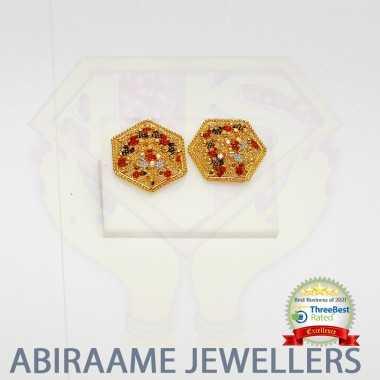 fancy earrings, enamel jewellery, fancy gold earrings, enamel earrings, fancy earrings online, fancy stud earrings