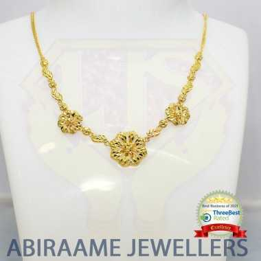 Floral design Yellow Gold...
