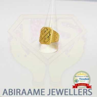Classic Design Gold Men Ring