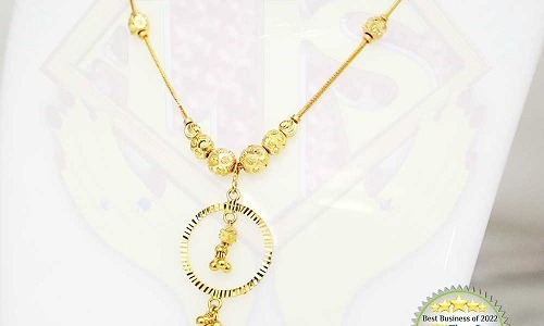 Unimaginable wider range of gold necklace collections for all age groups from the unique gold boutique!